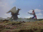 Dexador vs. Ultraman Dyna1