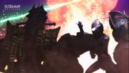 Taro fought Alien Temperor