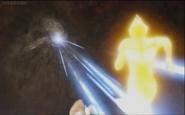 Demonothor's attack don't effective in Tiga Glitter