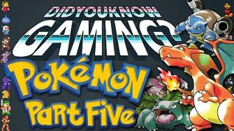 Pokemon Part 5 - Did You Know Gaming? Feat