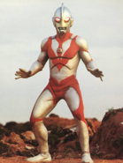 Ultraman Powered red eye