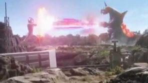 Ultraman Mebius vs Vakishim