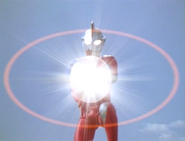 Ultraman Cosmos Corona Mode Prominence Ball