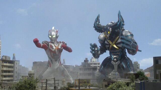 File:Ultraman X-Cyber Gomora Screenshot 005.jpg