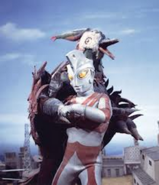 Black Pigon v Ultraman Ace