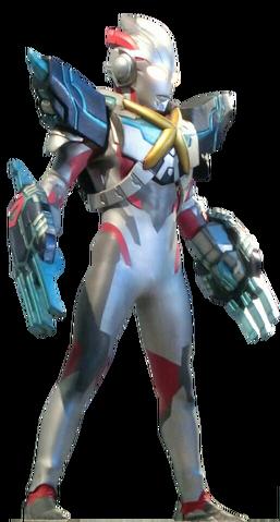 File:Ultraman X Gomora Armor Render 3.png