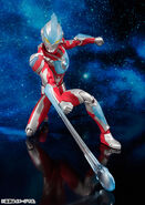 Ultra-Act Ultraman Ginga using Ginga Saber effect part