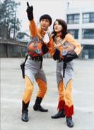 Seiji Hokuto & Maya Takashina
