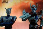 Ultraman Zero & Mars in Heroes Retsuden