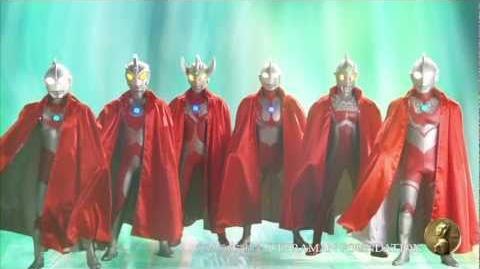 【ウルトラマン基金】ウルトラ6兄弟からのメッセージ