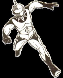 Mirrorman (manga) redered