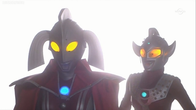 File:Ultraman Taro young and Ultra Mother.png