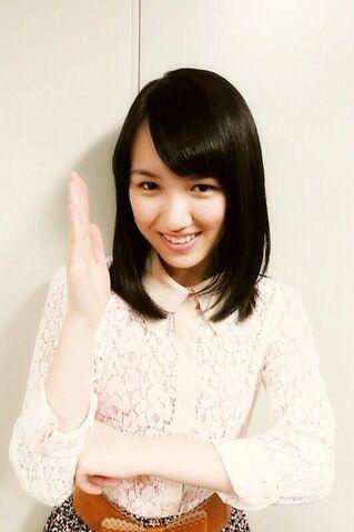 File:Mio in Ginga Cross Shoot stance.jpg