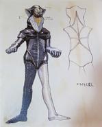Alien Mefilas concept