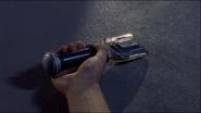 Daigo holds Black Spark Lens