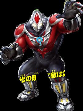 Ultraman Orb Power Strong Render