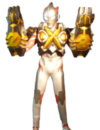 Ultraman X Zetton Armor Render 1