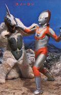 Ultraman vs Snowgon
