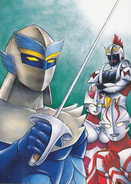 Armored Darkness, The Jackal Legion Revenge artwork