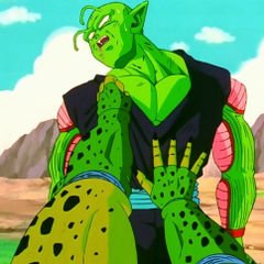 Piccolo nearly killed by Cell