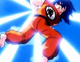 Goku First Kamehameha DBZ
