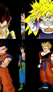 The Pure Sons of the Pure Saiyans
