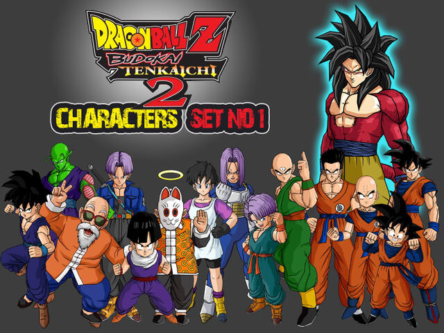 File:Dragon Ball Z Characters Set1 by The Lonely Wolf.jpg