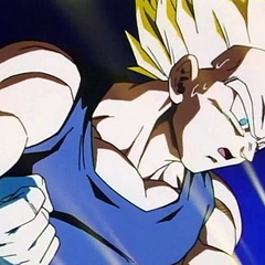 SS Vegeta after his strongest attacks do nothing to Super Buu