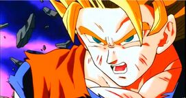 SSJ2 Goku in The Wrath of the Dragon