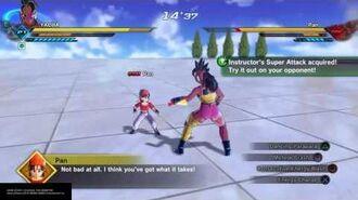 DRAGON BALL XENOVERSE 2 - Pan's training initiation - Dancing Parapara