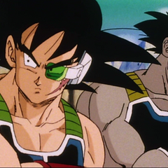 Bardock next to Borgos.