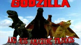 """Godzilla and his Amazing Friends Special """"The Story of Red King"""""""