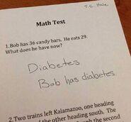 Diabetes and Bob