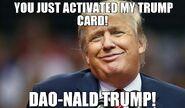 Dao-nald trump meme