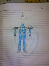 Ultraman Draco Aqua Burst
