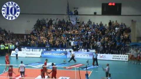 Ираклис - Олимпиакос (волейбол) 2011