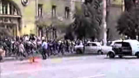 Погром Воронежа фанатами Спартака 2000