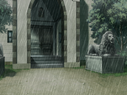 Chapel day rain
