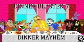 Dinner Blaster The Last Dinner by AwesomeGamer670