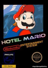 Hotel Mario Box NES