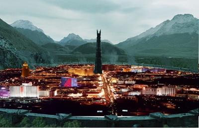 Isengard city