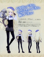Charlotte Belew's Anime Character Profile Blu-ray and DVD Vol.II Booklet I
