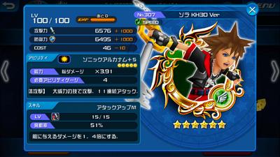307 Sora max stats