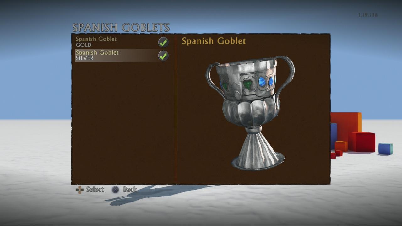 Spanish goblet (silver)