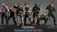 PlayStation Heroes Skin Pack
