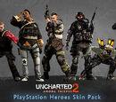 PlayStation Heroes Skin Pack