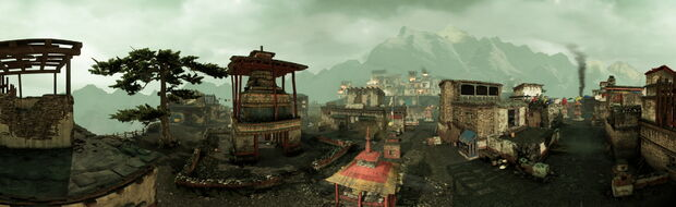 The Village panorama by AlgoRhythmic