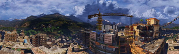 The Highrise panorama by AlgoRhythmic