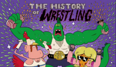 The History of Wrestling Titlecard
