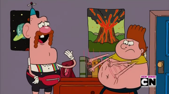 File:Uncle Grandpa, Belly Bag, and Belly Brother 4.png